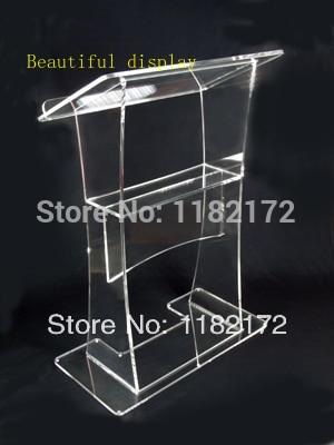 Unique Design Acrylic Lectern Podium Acrylic Podium Pulpit Lectern