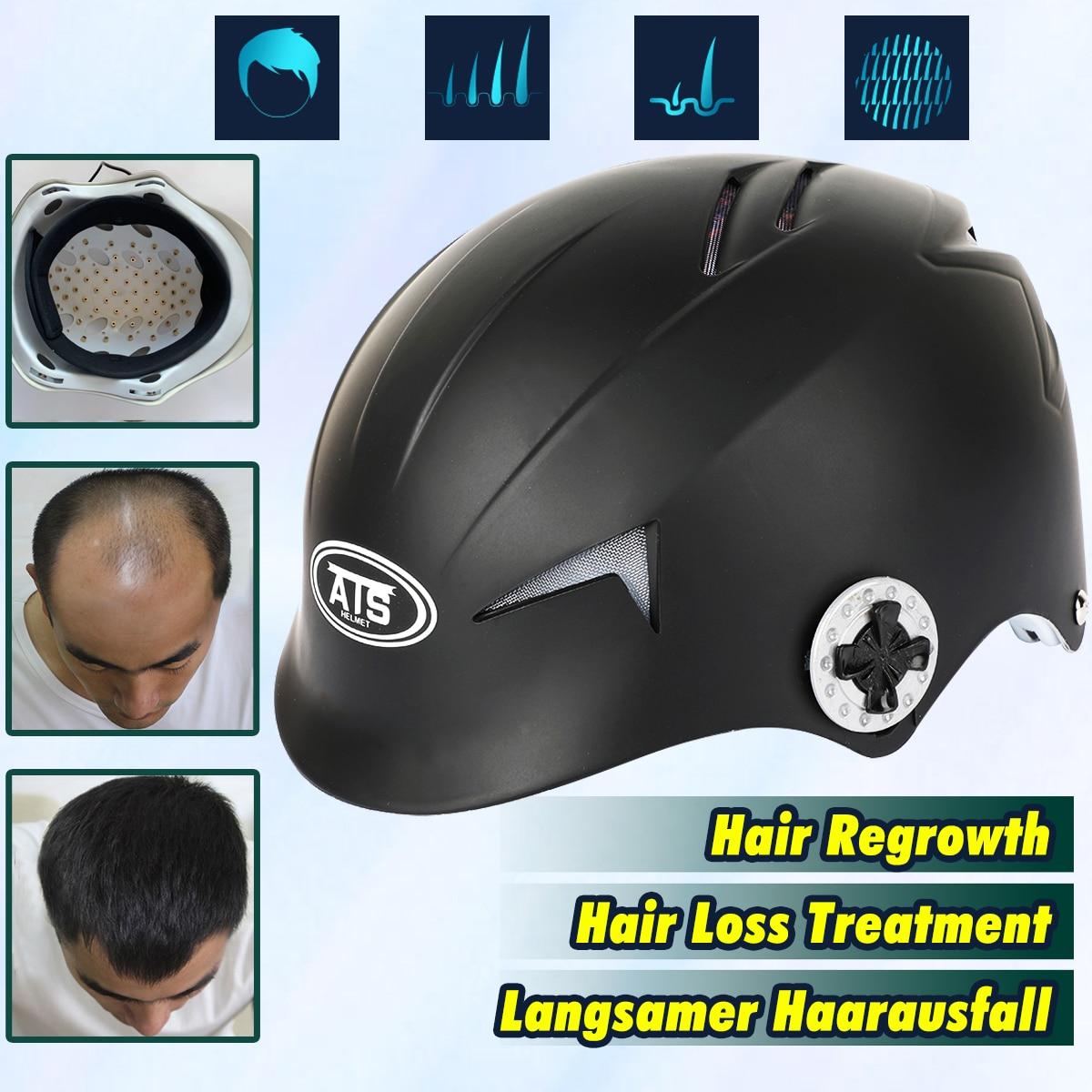 64 Diodes Capuchon Laser Traitement De Perte De Cheveux Repousse Des Cheveux Promoteur Bâtiment Fibers Bouchon