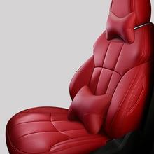 Genuine Leather Car seat covers For renault megane 2 3 master scenic captur clio fluence kangoo logan kadjar accessories
