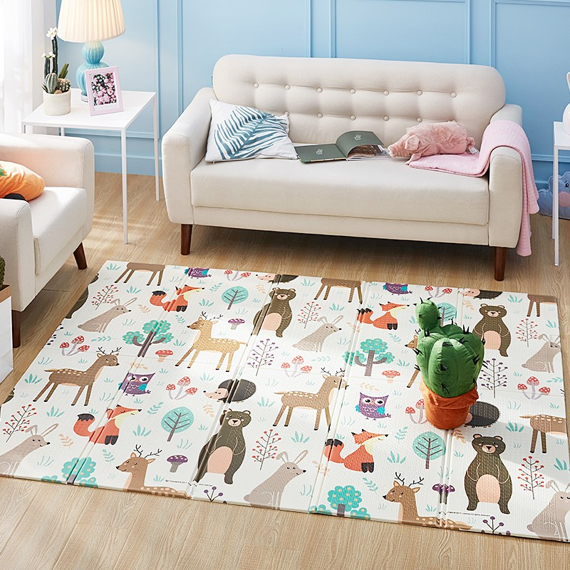 XPE Baby Foam Play Mat  Crawling Pad Children's Carpet Folding Kids Climbing  Rug Toys Home Room Decoration Playmat Gym Activity