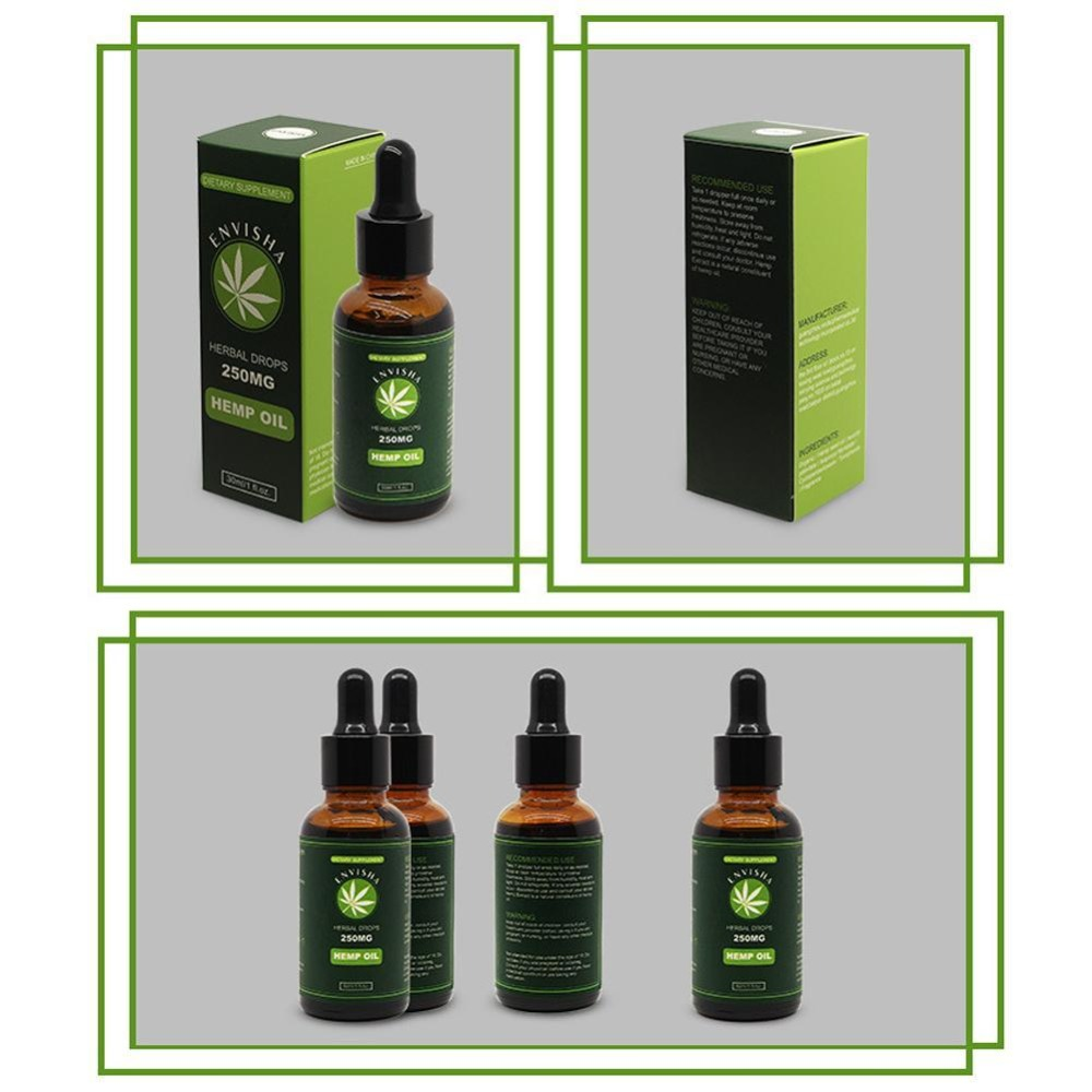 50000mg Hemp Oil for Pain Relief Anxiety Sleep Anti Inflammatory Extract Drops Seed Oil