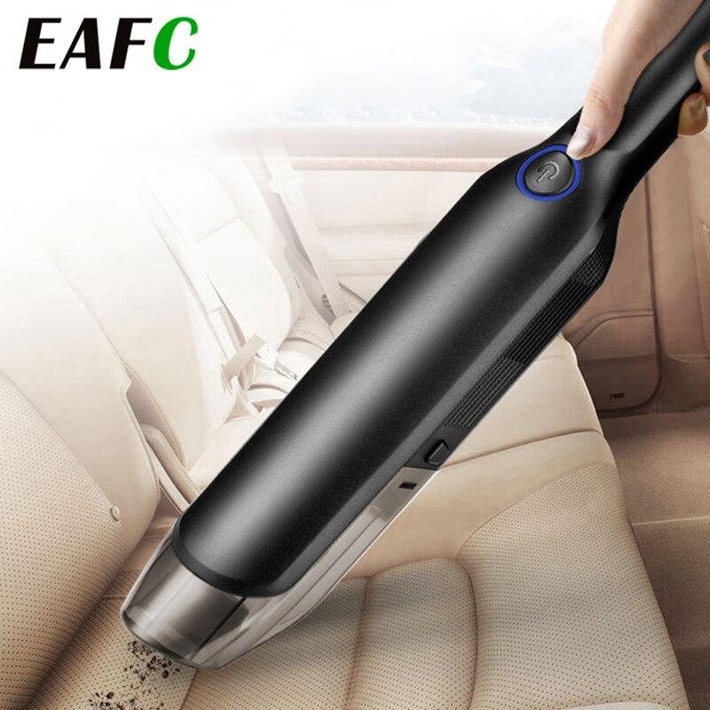 Aspirateur sans fil tenu dans la main puissant daspiration de Cyclone aspirateur de voiture Rechargeable Portable automatique humide/sec pour les cheveux danimal de compagnie de maison de voiture