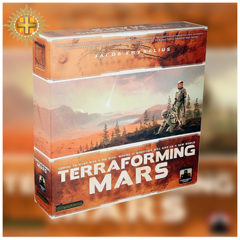 BRPG New Game Terraforming Mars Board Game 1-5 Player Entertainment Games Game Suitable For Family Gathering And Picnic