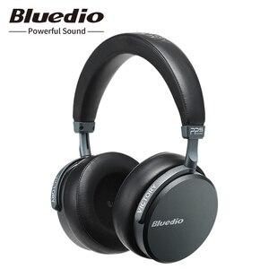 Image 1 - Bluedio V2 Bluetooth אוזניות אלחוטי אוזניות PPS12 נהגים עם מיקרופון אוזניות עבור טלפון ומוסיקה