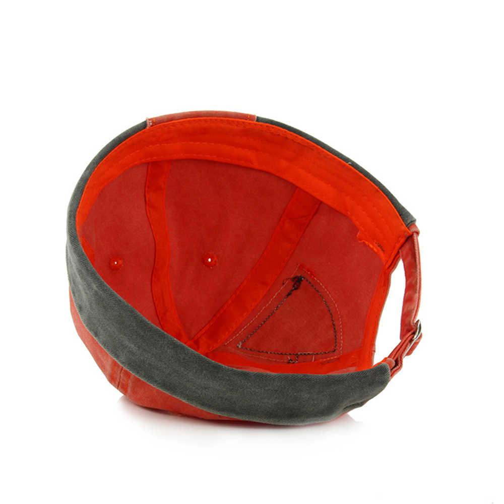 خمر الهيب هوب الرجال قبعة غسلها القطن الرجعية Skullcap قابل للتعديل Brimless قبعة المالك تنفس قبعة صغيرة غطاء بحار 2019 جديد
