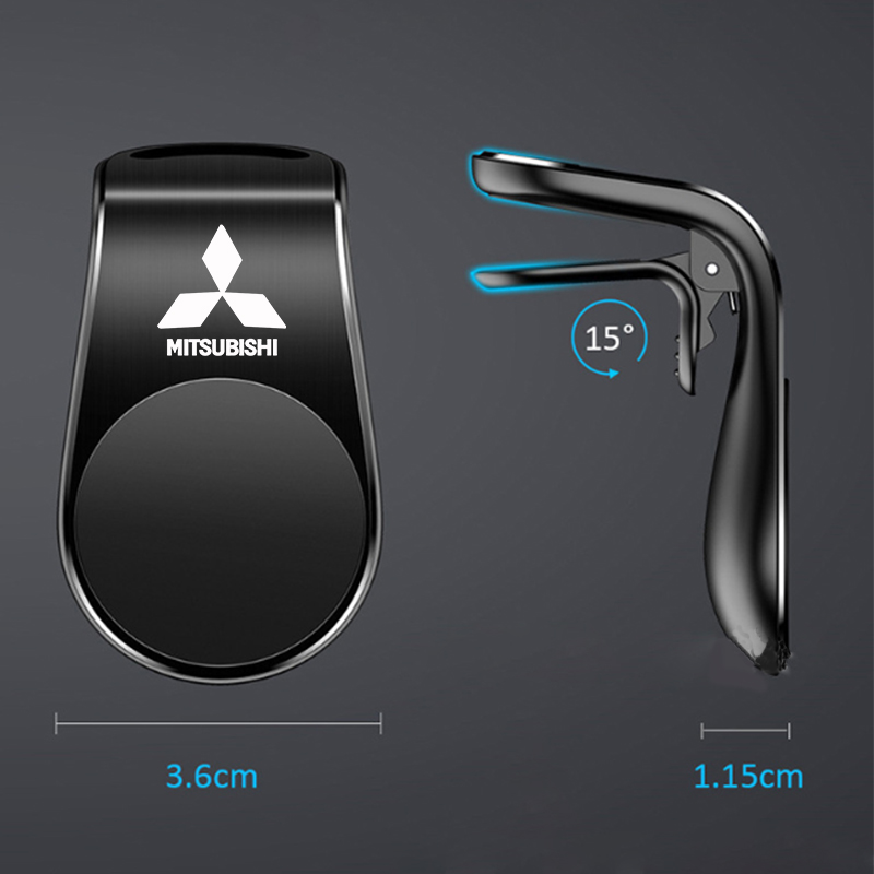 Магнитный автомобильный держатель для телефона, автомобильная подставка с креплением на вентиляционное отверстие для Mitsubishis ASX Lancer Pajero ...