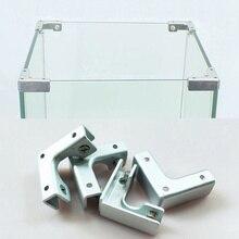 L T крестового типа прямоугольный фиксированный зажим шкаф комбинация Соединительный кусок аквариум Стекло фиксированный для 6-12 мм мебельная фурнитура
