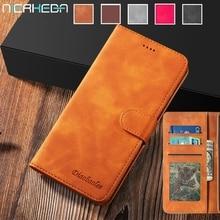 Кожаный чехол для Samsung Galaxy Note10 9 S20 Ultra S10 S9 S8 Plus A80 A70 A50 A40 A30 S A20 E A10 A7 A8 Plus A51 A71