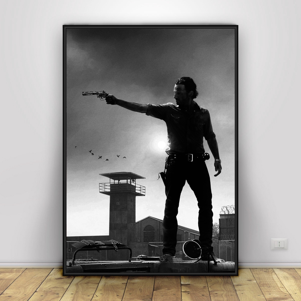 The-Walking-Dead-Art-Silk-Poster-Home-Decor-12x18-24x36inch (1)