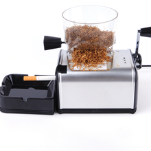 Electric Cigarette Rolling Machine Automatic Tobacco Roller Maker Smoking Accessories Metal Electric Tube Machine Men Gifts