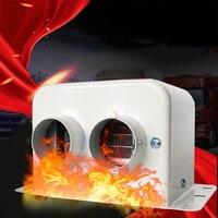 자동차 히터 자동차 유리 서리 제거기 창 히터 겨울 자동 공기 콘센트 2 따뜻한 건조기 자동차 용품 인테리어 액세서리 (24V 800W)