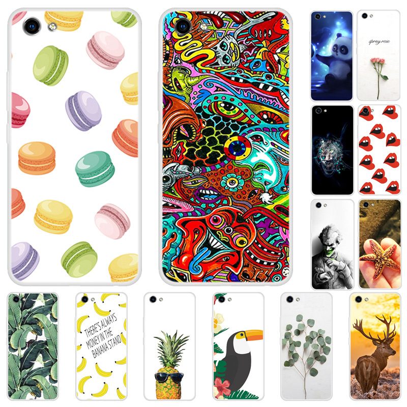For <font><b>Vivo</b></font> <font><b>Y81</b></font> Case Silicone Soft TPU Phone <font><b>Cover</b></font> For Coque <font><b>Vivo</b></font> <font><b>Y81</b></font> VivoY81 Case <font><b>Cover</b></font> Vivo1808 Y 81Back Cartoon Fundas Housing image
