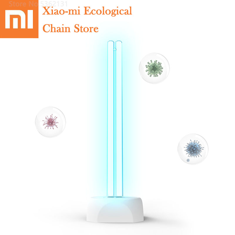 Xiaomi Huayi Household Disinfection Sterilize Lamp 38W UV Ozone Germicidal Lamp 360° Light Disinfection 40㎡ Disinfect Sterilizer