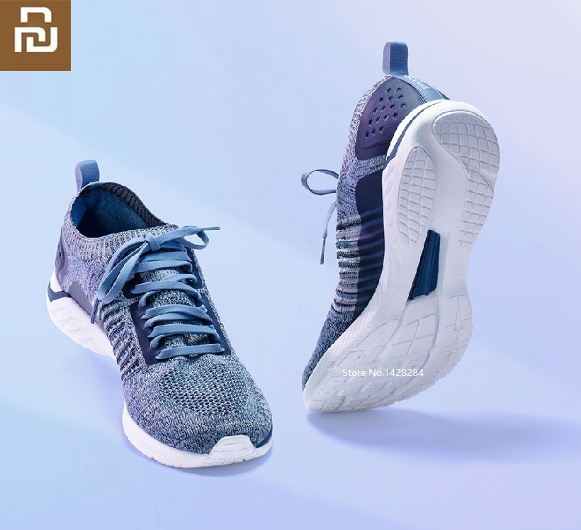Youpin 90  Running Men Shoes Light High Elastic Soft Non-slip  Mesh Breathable Sneakers Outdoor Sports Walking Shoes