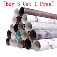 [Comprar 3 obtener 1 gratis] telón de fondo fotografía 2 DE MADERA fondo fotográfico grano impermeable fondo de papel para el estudio de la foto * 56*90cm