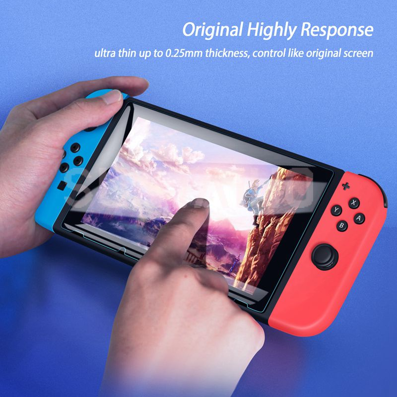 3PC Tempered Glass 9H HD Screen Protector Film For Nintendo Switch NS Screen Protector For Nintendo Switch Lite Accessories 2