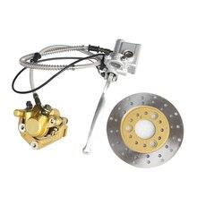 Metall Front Disc Bremssattel Adapter Hydraulische System fit für Honda Affe z50 bike z50R Motorrad Zubehör