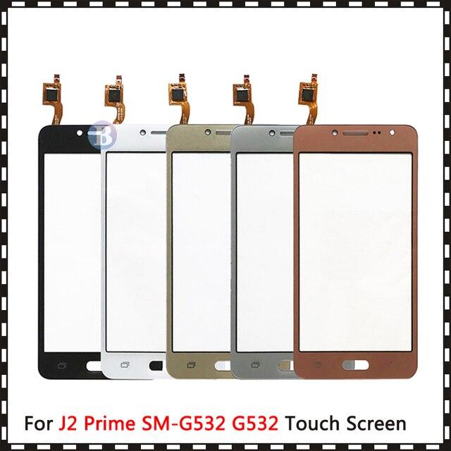 "50Pcs High Quality 5.0"" For Samsung Galaxy J2 Prime Duos SM G532 G532 Touch Screen Digitizer Sensor Outer Glass Lens Panel"