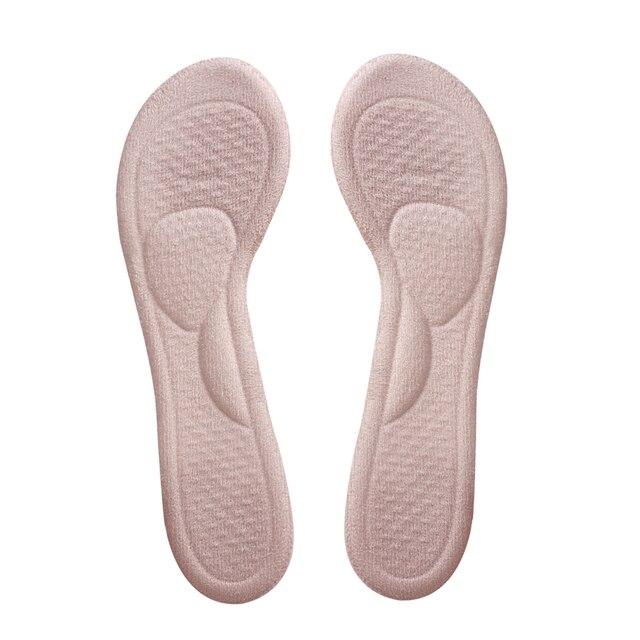 1 paire sandales Silicone semelle intérieure talon haut semelle talon soulagement de la douleur coussinet Gel coussinet pied