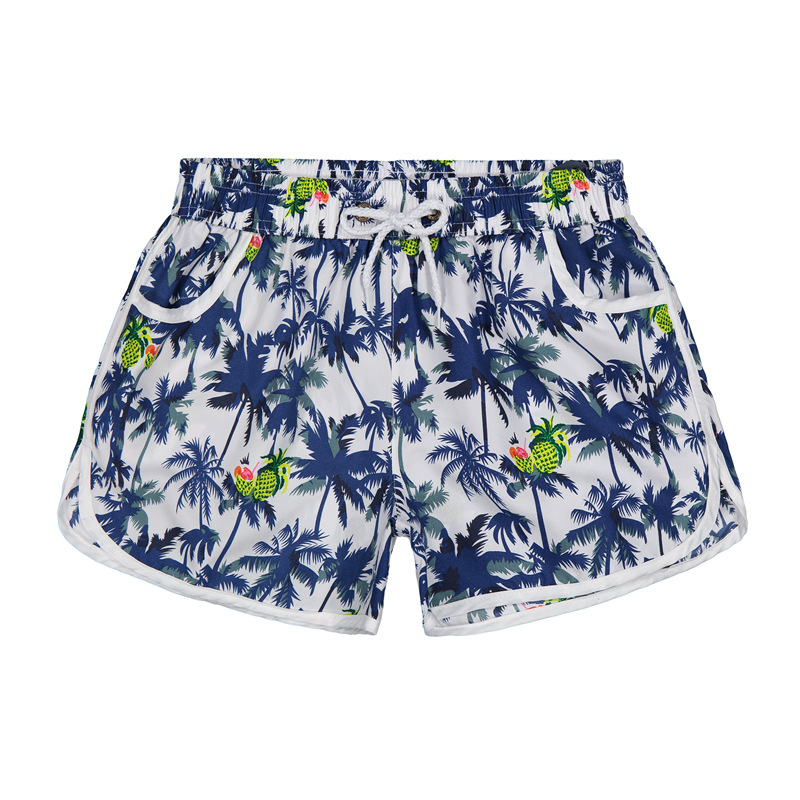 New Style Beach Shorts Men's Loose-Fit Quick-Dry Couples Swimming Trunks Seaside Holiday Short Floral Short Trunks Summer Thin