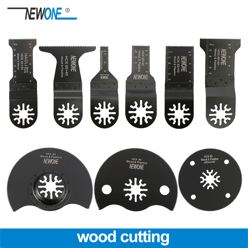 NEWONE Professional Wood Cut Universal Oscillating Multi Tool Saw Blade For Renovator Power Tool Fein Bosch Makita Milwaukee