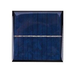 Mini DIY moduł panelu słonecznego System do telefonów komórkowych ładowarka DIY typ: 5V 0.8W 160MA 80X80mm