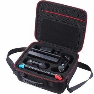 Портативный жесткий чехол для игры для Nintendo Switch EVA переносная водонепроницаемая сумка для хранения для Nitendo Switch NS консоль аксессуары