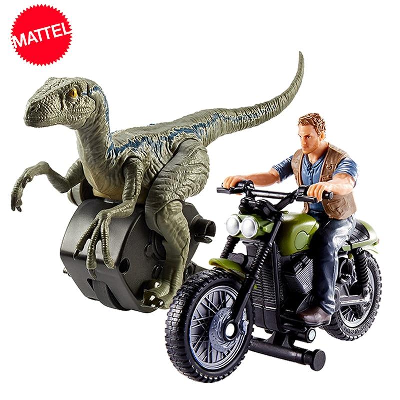 Original jurassique monde 2 attaque Pack Velociraptor Dragon Owen figurine Action offre spéciale modèle poupées jouets pour enfants