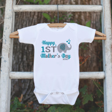 Baby Bodysuit Father's-Day Birthday-Gift Happy-First-Mother's Onepiece Graphic