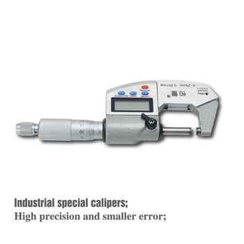 IP65 Waterproof Digital Micrometer High-Strength Stainless Steel Outside Micrometer 0-25MM 25-50MM 50-75MM 75-100MM