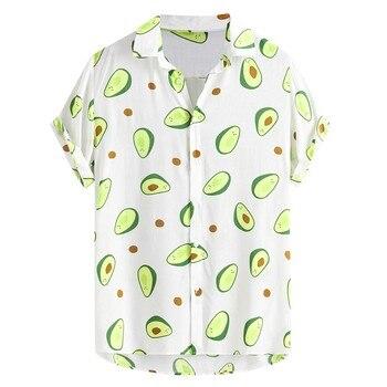 camisa blanca aguacates