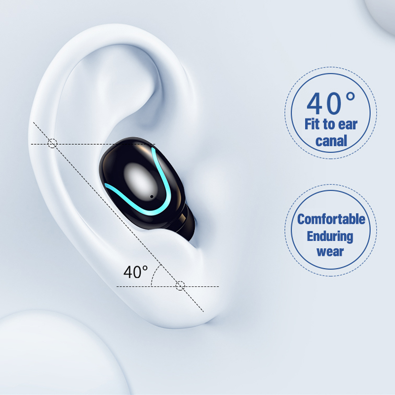 New mini Wireless Headphones Swimming Bluetooth5.0 Earphone TWS In-ear Sports Running Headset Support iOS/Android Phones HD Call 2