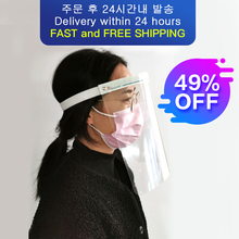Isolation high definition protective mask anti fog dust proof anti toxic seal breathable transparent full face hood