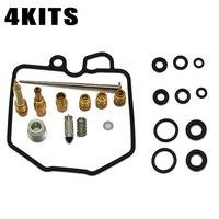 4pc Carburetor Repair Kit For Honda CB750 C Custom 1980 1981 CB750 K 1980 1982 Replacment Tools Parts