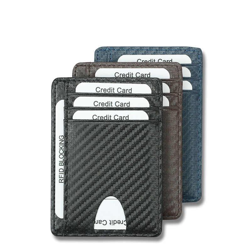 DIENQI 2020 Minimalist ince deri cüzdan erkekler kadınlar için ince Mini küçük cüzdan erkek kadın bozuk para cüzdanı para çantası cüzdan Walket