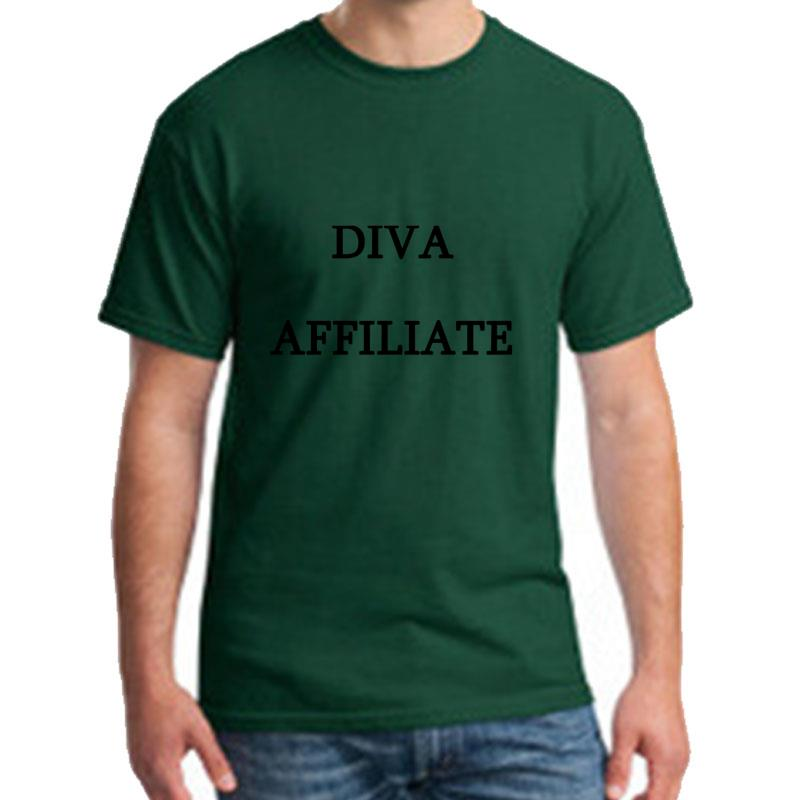 Fitness Diva Affiliate tshirt plus sizes s-5xl Comfortable Humor streetwear homme t-shirts gift HipHop Top