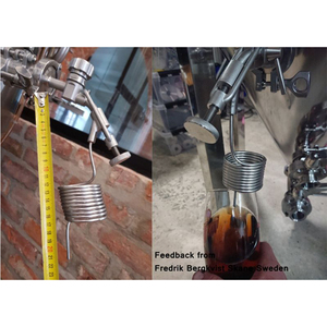 """Image 5 - 1.5""""TC Sample Valve, Sampling Coil, 304 Stainless Steel Conical Fermenter Accessories Free Shipping"""