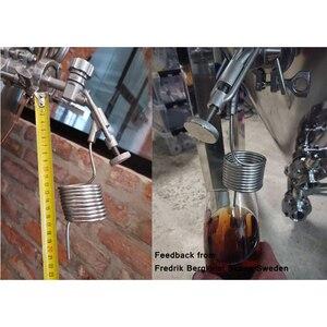 """Image 5 - 1.5 """"TC örnek vana, örnekleme bobin, 304 paslanmaz çelik konik Fermenter aksesuarları ücretsiz kargo"""