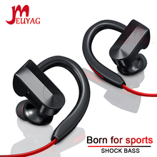 MEUYAG Wireless Bluetooth Earphone Stereo Sports Running Headset with Mic Music Earbuds