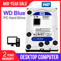 WD Western Digital Blue 4 TB 3.5 ''Desktop Hdd Sata Interno Hard Disk Hard Disk Hard Drive Disque Dur Desktop HDD per PC