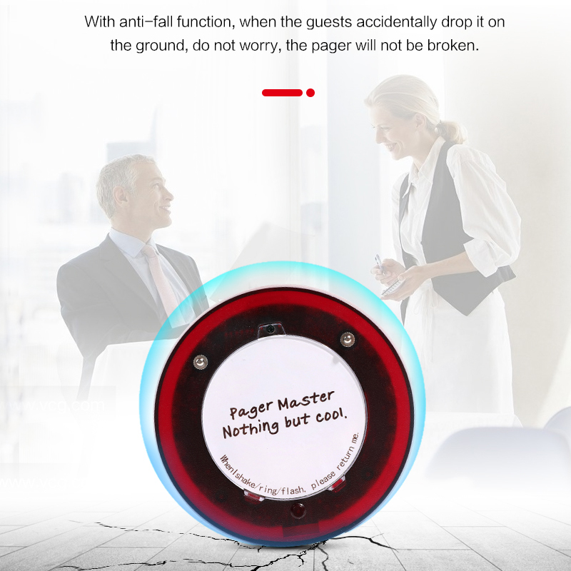 Best DealíRestaurant Pager Customer-Paging-System Wirelesslinkx Hospital Guest with Touch-KeypadΔ