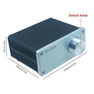 Image 3 - 4 (1) en 1 (4) sortie 4 voies entrée audio RCA signal câble séparateur sélecteur commutateur schalter Source connecteur distributeur boîte