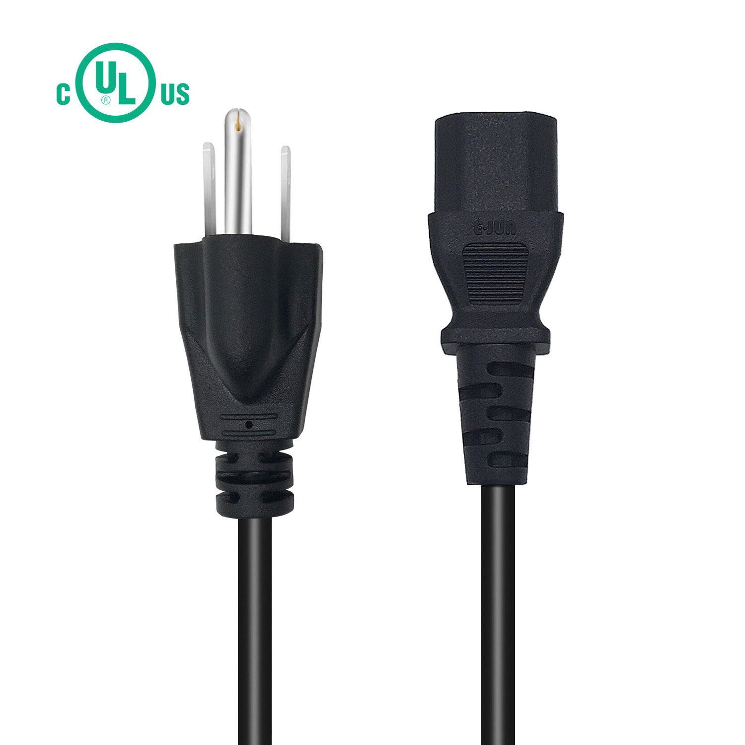 LCD Plasma 6Ft Ac Power Cord Cable for Computer TV printer