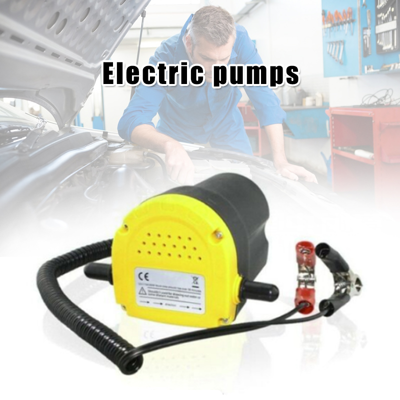 Professional Electric Oil Pump Suction Transfer Pump with Tubes for Auto Car Boat B99