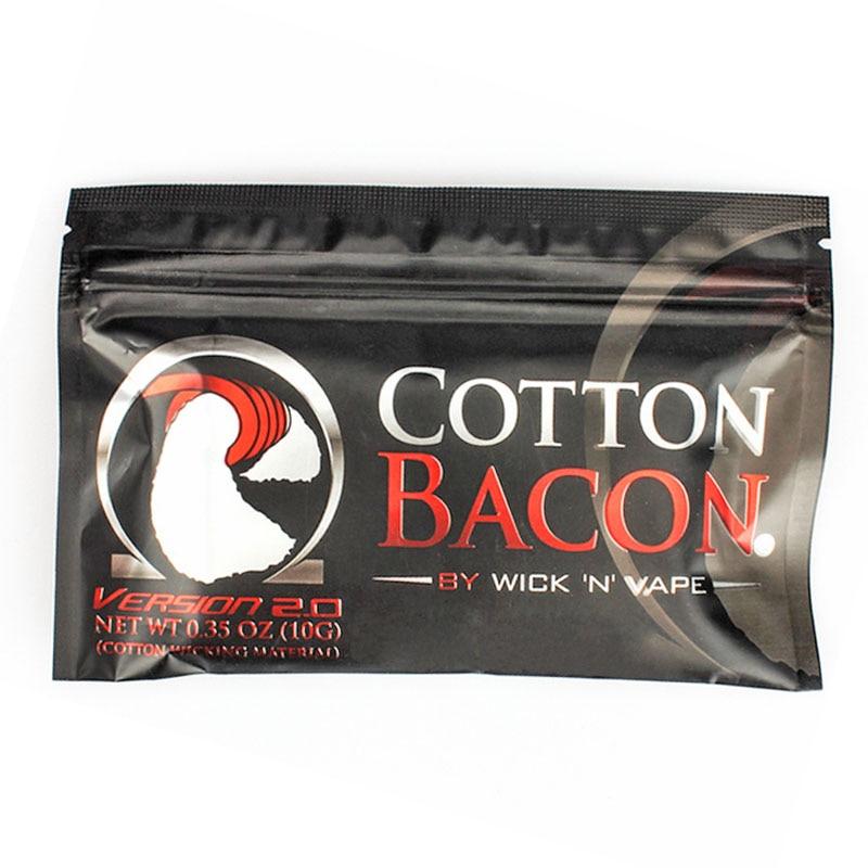 Cotton Bacon Vape Cotton Gold Version Bacon Soft DIY Dream Cotton For RDA RBA Atomizer Heating Wire Vape Cotton