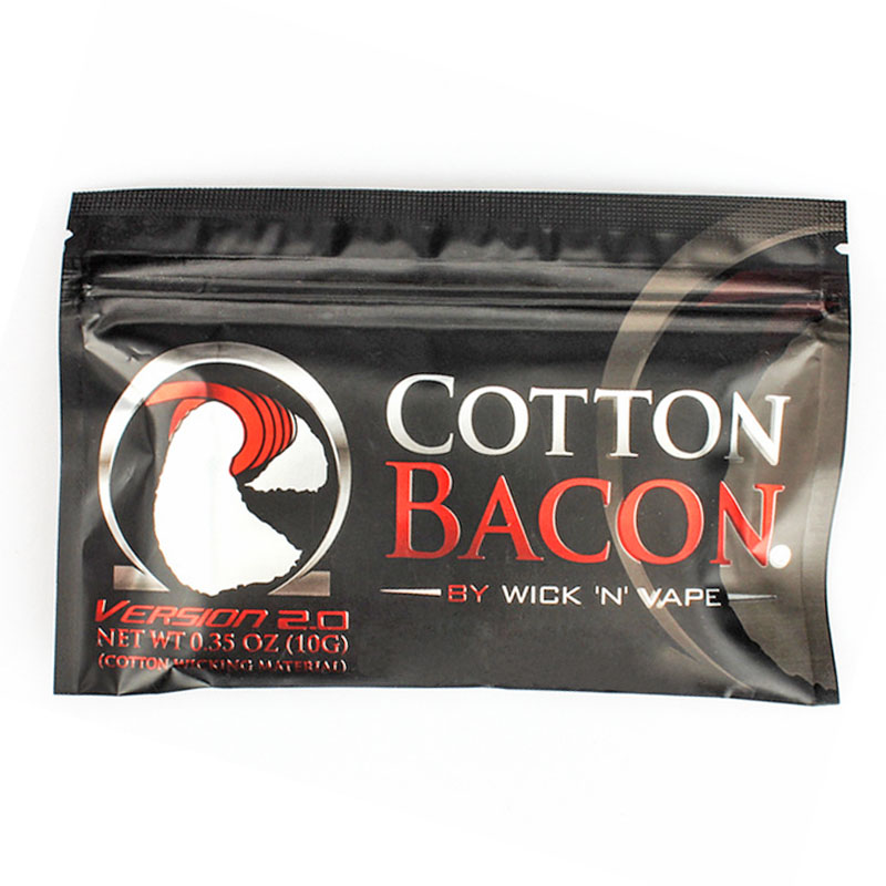 Cotton Bacon Vape Cotton Gold Version Bacon Soft DIY Dream Cotton for RDA RBA Atomizer Heating Wire Vape Cotton image