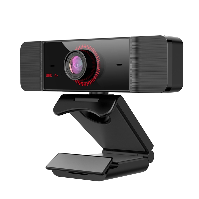 4K Webcam, AF Autofocus, Microphone with Automatic Noise Reduction, 120° Adjustable Viewing Angle, for PC, Etc.