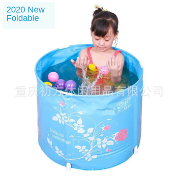Hot-selling Children's Bath Bucket, Foldable Tub, Household Non-inflatable Bathtub Can Be Carried Out Play Bath Tub Child Bath munchkin white hot inflatable safety bath tub duck 1 count kids mini playground