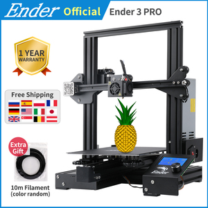 Ender-3 Pro 3D Printer DIY KIT Upgrad Cmagnet Build Plate Ender-3Pro Resume Power Failure Printing Mean Well Power Creality 3D(China)
