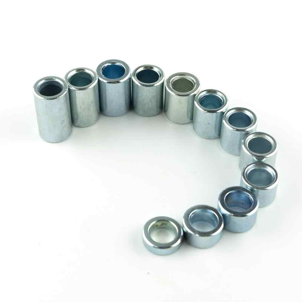 1pcs M12 Aluminium Voor Achter Alex Spacer washer pakking ID12mm Lengte 6mm/10mm/13mm /15mm/18mm/20mm